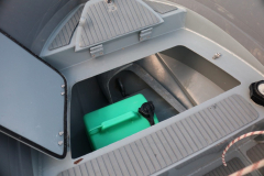 3D tender 320 ultimate dinghy locker open with anchor